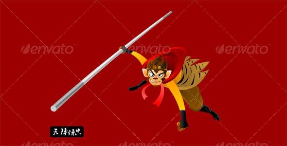 monkey king - Animals Characters