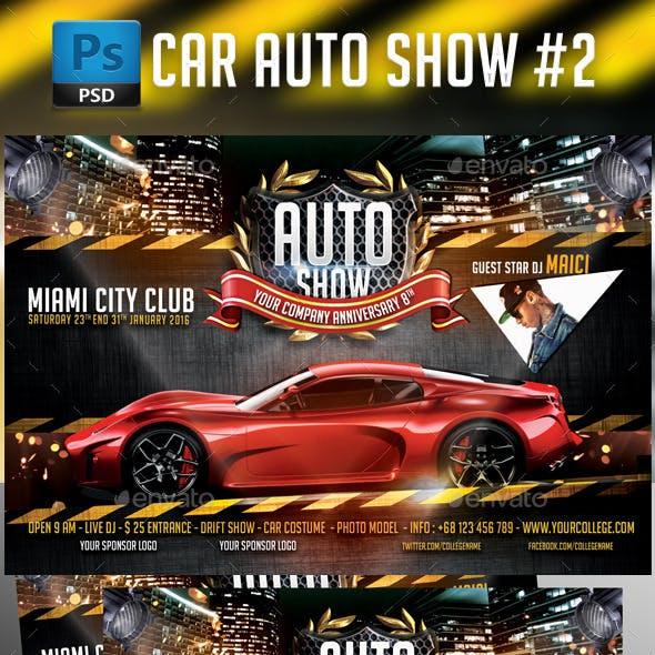 Auto Show Car Flyer Template