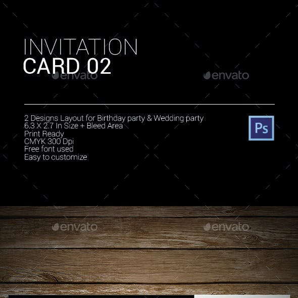 Invitation Card 2