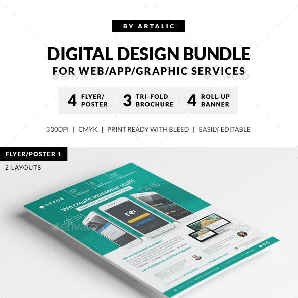 Digital Design Services Bundle