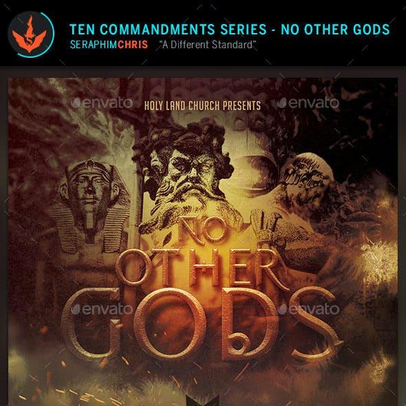No Other Gods: CD Artwork Template