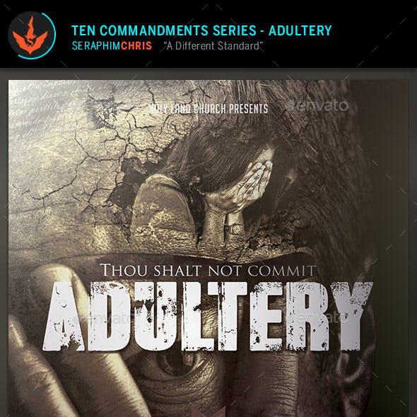 Adultery: CD Artwork Template