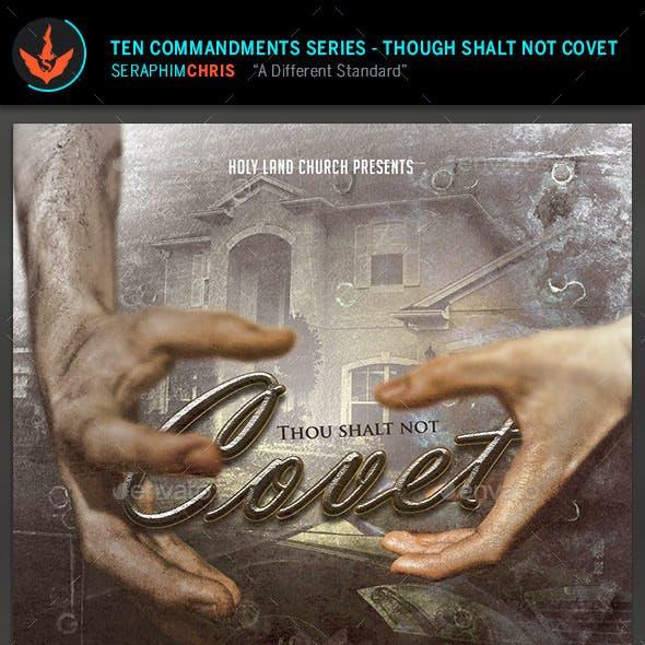 Don't Covet: CD Artwork Template
