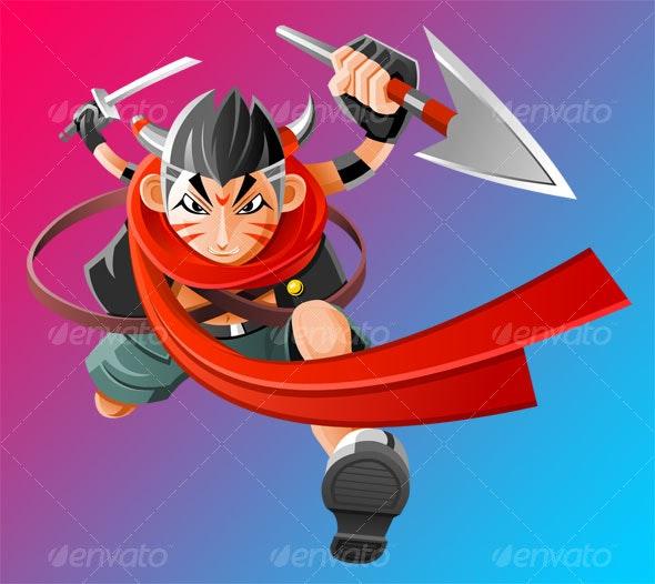 Warrior - People Characters