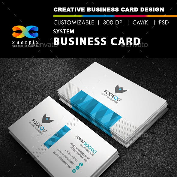 System Business Card