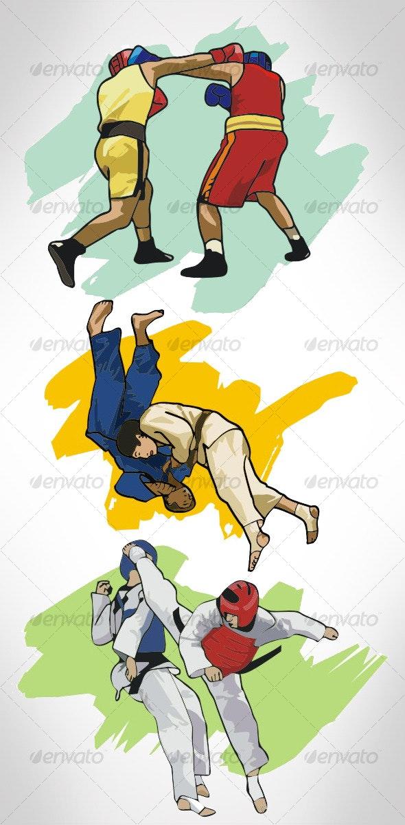 Sports Illustration - Sports/Activity Conceptual