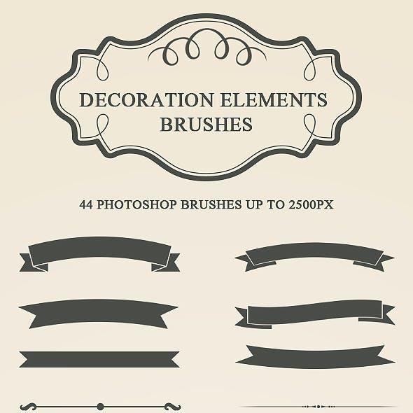 Decoration Elements Brushes