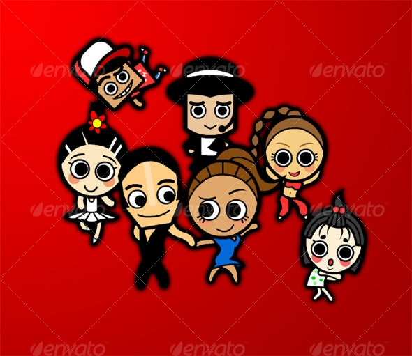 Dancer - People Characters