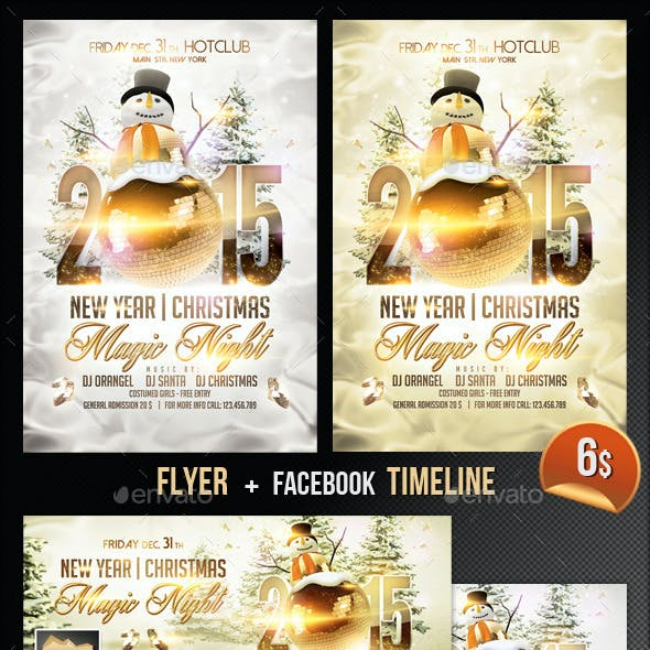 Magic Christmas Graphics, Designs & Templates from GraphicRiver