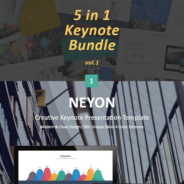 5-in-1 Keynote Bundle