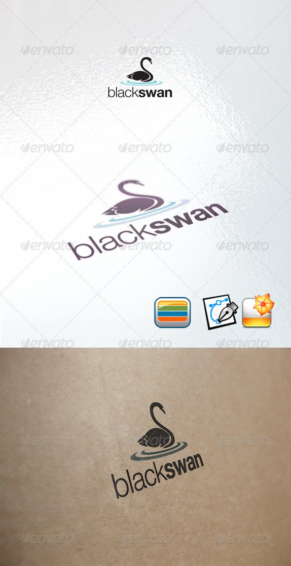 blackswan - Animals Logo Templates