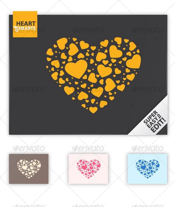 Heart of Hearts - Decorative Symbols Decorative