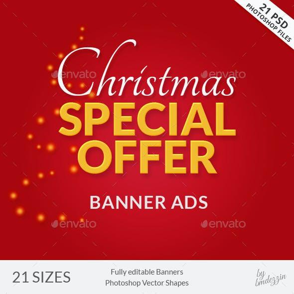 Christmas Banner Ads