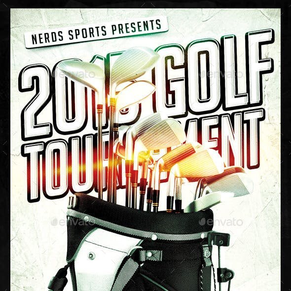 Golf Competition Sports Flyer