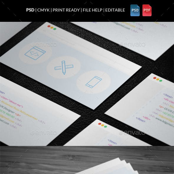 Creative Corporate Business Card V2