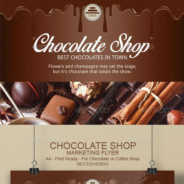 Chocolate Flyer Template