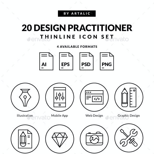 Design Practitioner Icons