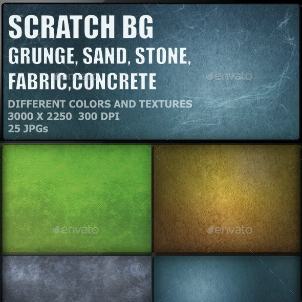Scratch Grunge Backgrounds Pack