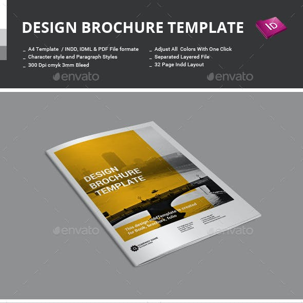 Design Brochure Template