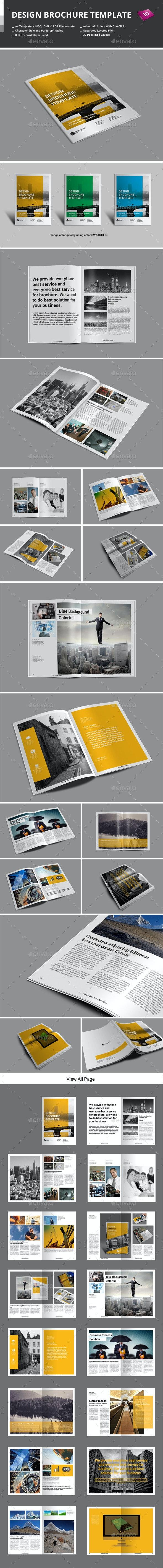 Design Brochure Template - Corporate Brochures