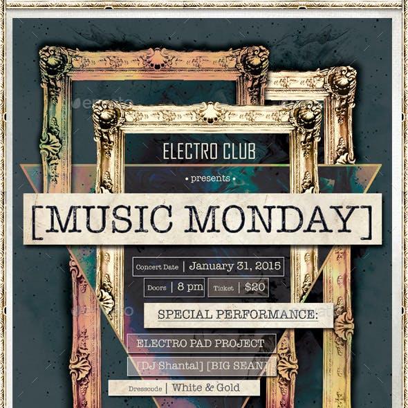 Music Monday Poster