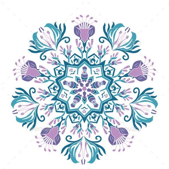 Vector Pattern Mandala Papua 1