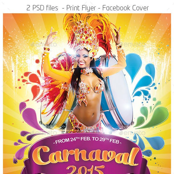 Carnival 2015 Flyer Template