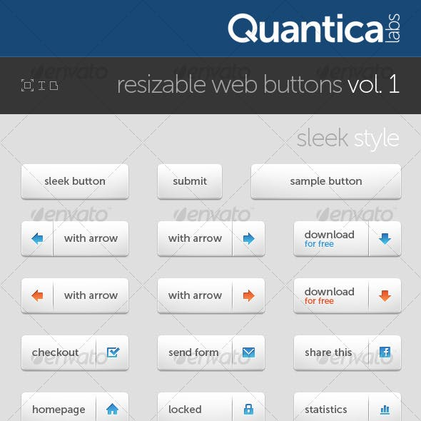 Resizable Web Buttons #1