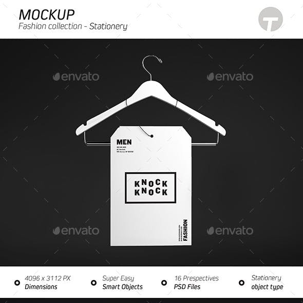 Stationery Mockup ( Fashion Collection )