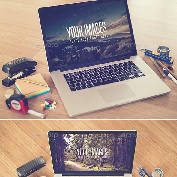 Desk II - Realistic Mock Up