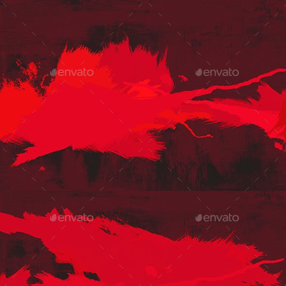 6 Red Paint Backgrounds