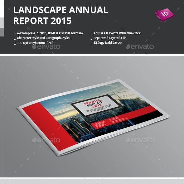 Landscape Annual Report 2015