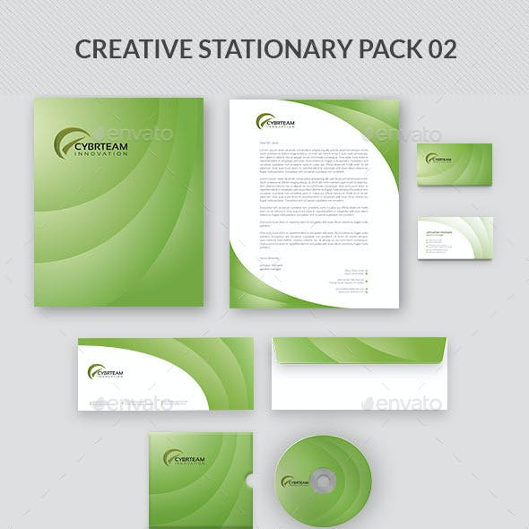 Creative Stationary Pack 02