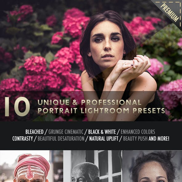 10 Portrait Photography Lightroom Presets
