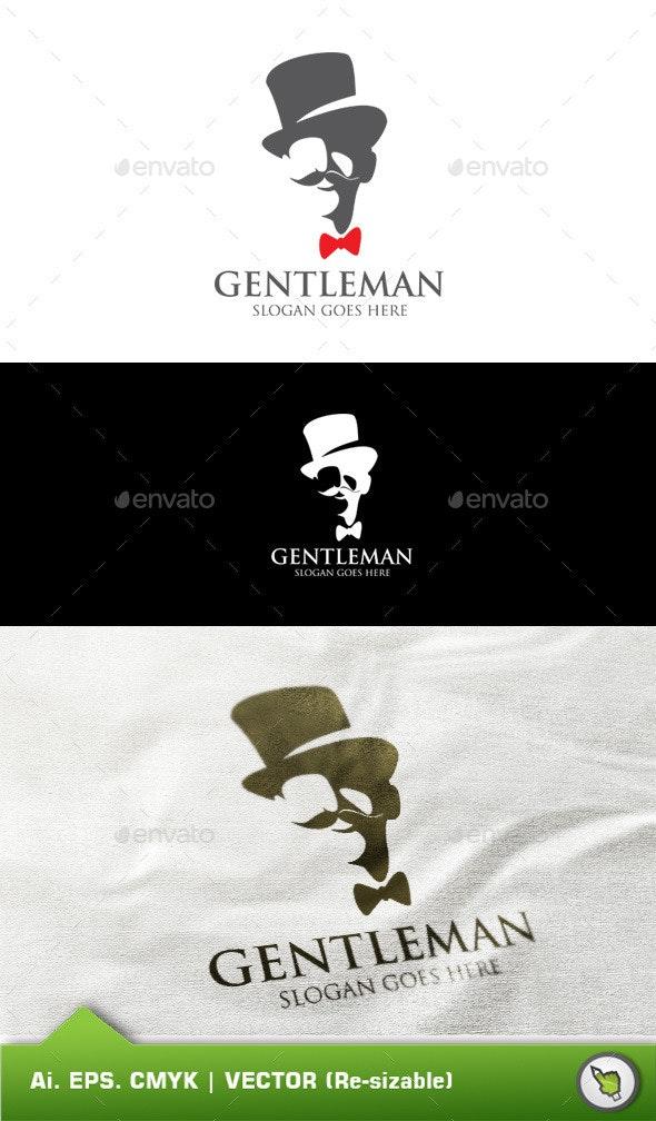 Logo Gentelman Template - Humans Logo Templates