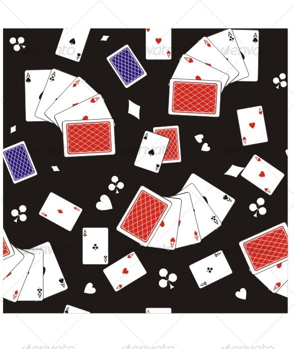 Playing cards seamless texture 414 - Patterns Decorative
