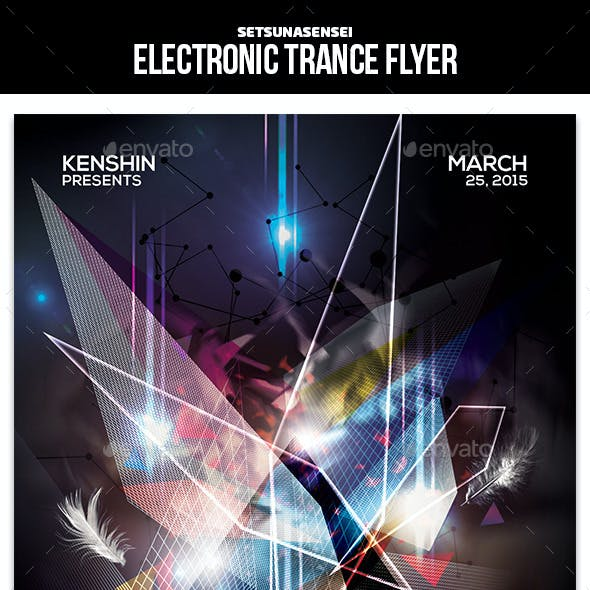Electronic Trance Flyer