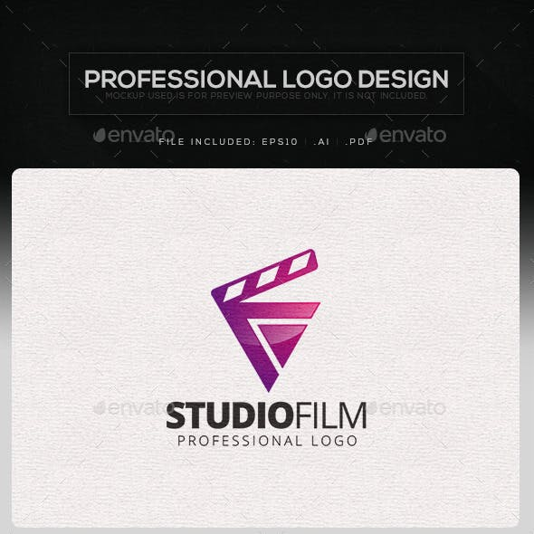 Studio Film Logo Template