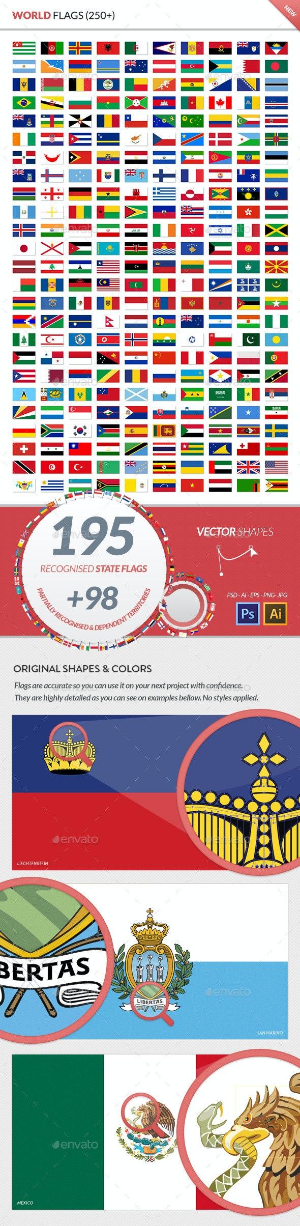 World Flags - Miscellaneous Vectors
