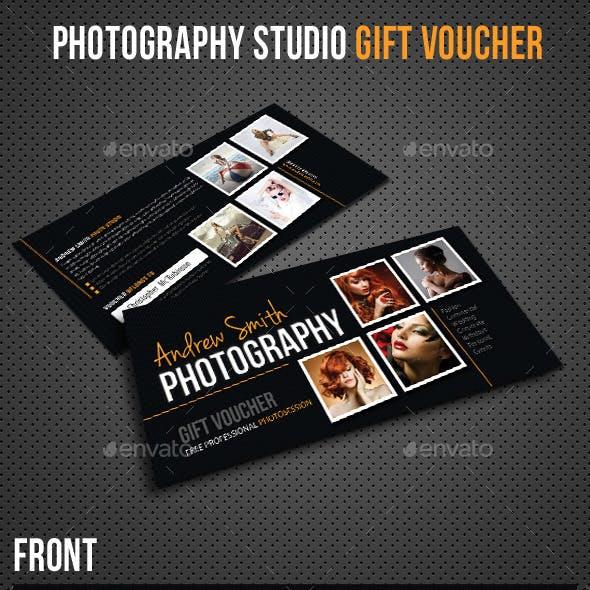 Photography Studio Gift Voucher 02