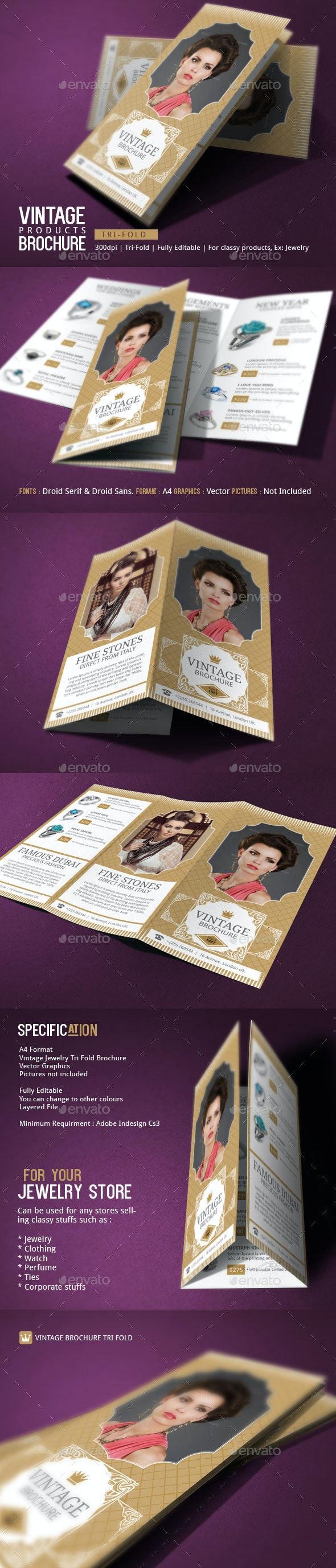 Jewelry Brochure Design - Catalogs Brochures
