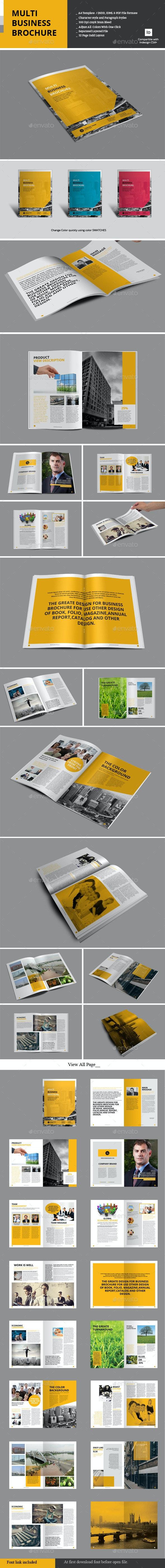 Multi Business Brochure - Corporate Brochures