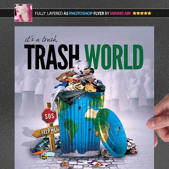 Trash World Poster/Flyer