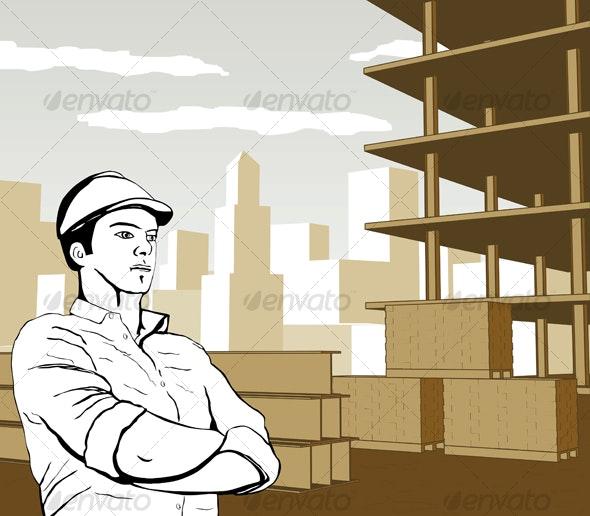 Engineer Builder Architect - Miscellaneous Conceptual