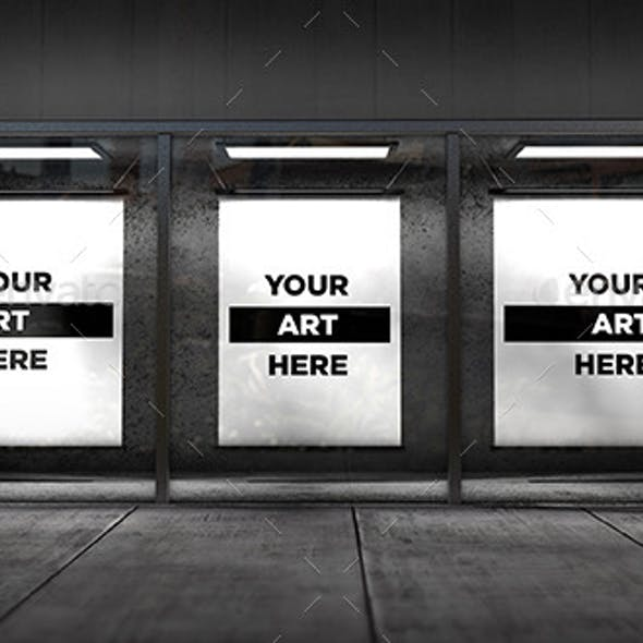 Store Front Window Mock-up