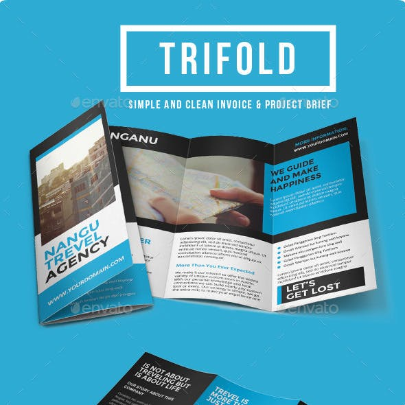 Multipurpose Trifold Brochure Vol. 6