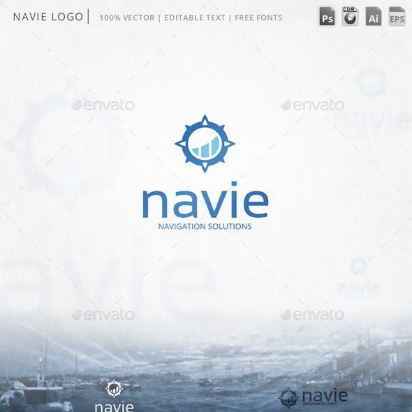 Navie Windrose Logo Template