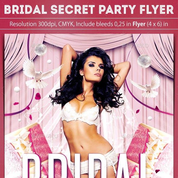 Bridal Secret Party Flyer