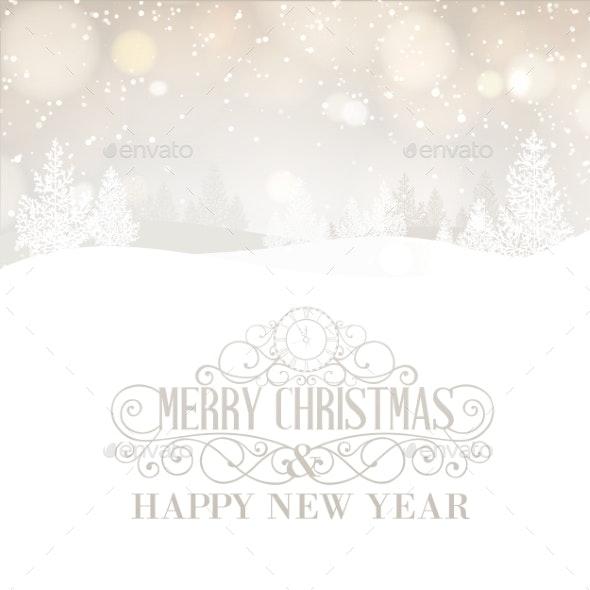 Merry Christmas Landscape - Christmas Seasons/Holidays