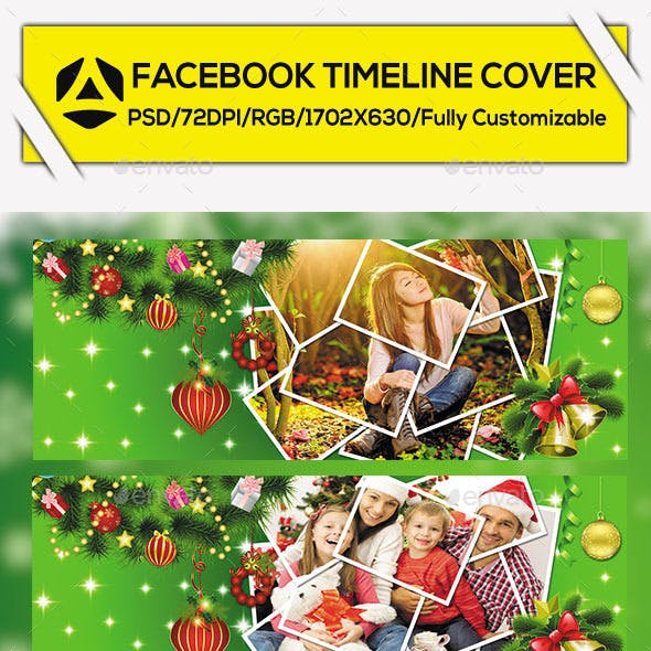 Christmas Facebook Timeline Cover Vol. 2